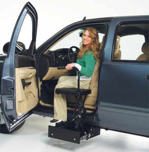 Woman With Car Seat Relocation And Modifications