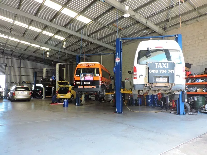 maxi taxi being converted