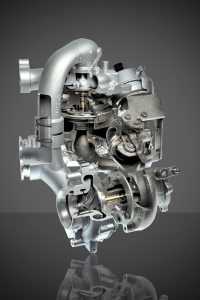 picture of a Audi 3.0L Two-Stage Serial turbocharger